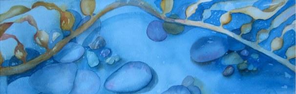 Seaweed watercolor